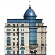 Дизайн фасадов зданий в г. Астана фото