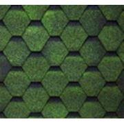 Гибкая черепица Шинглас зеленая 032050
