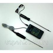 Влагомер-термометр для торфа, почвы и гумуса Tr 46908 фото