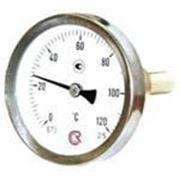 Термометр биметаллический Тип БТ, исполнение 1 фото