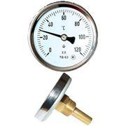 Термометры биметаллические ТБ с осевым штуцером