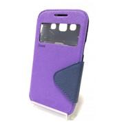 Чехол-книжка для Samsung i8552 Galaxy win фиолетовый фото