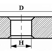 Круги алмазные плоские прямого профиля на металлической связке формы 1А1 фото