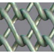 Полотно сетчатое транспортерное плетеное двойное концы загнуты фото