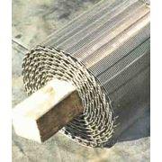 Сетка транспортерная подовая хлебопекарная. фото