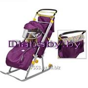 Санки-коляска Ника детям 4 фото