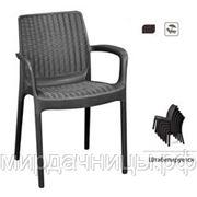 Кресло плетеное Keter BALI MONO фото