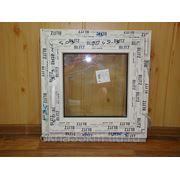 Окно ПВХ 500х500 фото