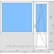 Балконная дверь с окном фото