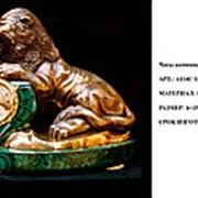 Часы каминные ЛЕВ фото