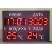 Часы-термометр электронные Р-210х12d фото