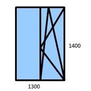 Окно металлопластиковое NOBEL (модификация №1) фото