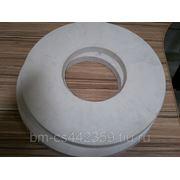 Резина белая, круг 400*15*127мм, 350*15мм фото