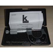 Микрометр гладкий МК 0-25 фото