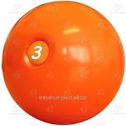 Мяч для атлетических упражнений 3 кг фото