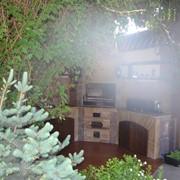 Барбекю и садовые камины фото