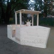 Кораблик для детской площадки фото