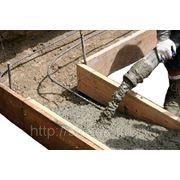 Товарный бетон М-100 фото
