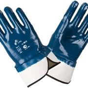 Перчатки нитриловые стяжелым покрытием 9912 фото