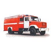АЦ-40 (ЗИЛ-433114) автоцистерна пожарная фото