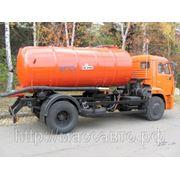 Вакуумная машина КО 529 13 на шасси КамАЗ 43253 фото