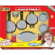 Babysuper Игровой набор посуды Faro Лагостино 2763. 8 предметов фото