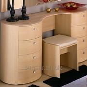 Стол туалетный «Секрет» Глазов-мебель, цвет дуб отбеленый фото