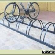 Велопарковка массовая полукруг на 5 мест VP- 3- 5 фото