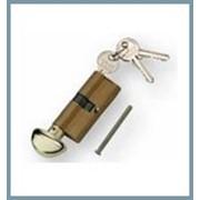 """COPY Цилиндр профильный ICSA (Италия) 168 """"английский"""" ключ (никель/латунь) фото"""