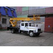 Автогидроподъемник (автовышка) ТА-14 на шасси ГАЗ-3302 (4х2) фото