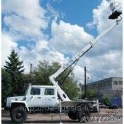 Автовышка АГП-18 (AUTEL 187HP) шасси ГАЗ-33081 фото