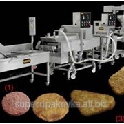 Линия Автоматическая Для производства рыбных мясных, и куриных Котлет различной формы и размера с влажностью фарша до 75%. фото