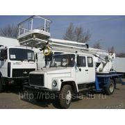 Автовышка ПСС-131.17Э (АПТ-17М) на шасси ГАЗ-33086 фото
