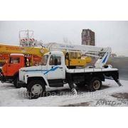 Автовышка ТА-22 на ГАЗ-3309 фото