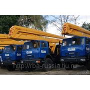 Автовышки ВС-28 Э.И. шасси КамАЗ-43114 6х6 фото
