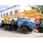 Автовышка ВС-28У ЭИ шасси УРАЛ-4320 фото