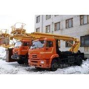 Автогидроподъемник АПТ-18К на шасси КАМАЗ-43253 фото