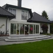 Изготовление, монтаж, оформление зимних садов, оранжерей, веранд фото