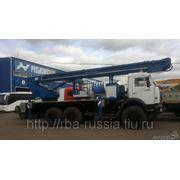 Автовышка ПСС-141.35 (АПТ-35) на КамАЗ-43118 фото