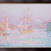 Картина Гавань в Марселе , Синьяк, Поль фото
