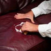 Чистка кожанной мебели фото