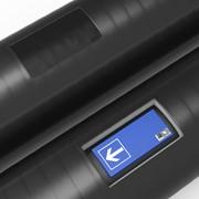 Трубы с защитным универсальным бетонным покрытием в металлополимерной оболочке с магнитным маркером фото