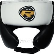 Боксерский шлем тренировочный RDX White фото
