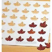 Шаблон для шоколадных форм резиновый Кленовый лист 39*29 см. фото