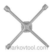 Ключ баллонный крестовой укрепленный Intertool HT-1604 фото