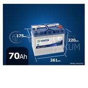 Батарея Varta Blue Dynamic 70Ah E23 обратная полярность фото