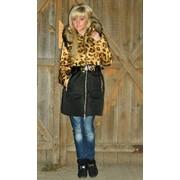 Куртка леопардовая мп5432 фото