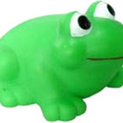 Поющая и мигающая лягушка для ванной фото