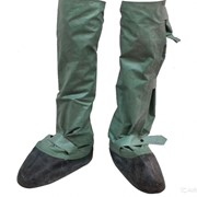 Бахилы химзащиты (ОЗК-общевойсковой защитный костюм). Поверх любой обуви. Про-во СССР фото