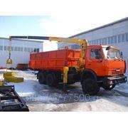 КАМАЗ 65115 с КМУ SOOSAN 513 фото